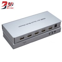 HDMI Switcher 4x1 HD Screen Seamless Switch 4 entrada 1 salida completa 1080P 3D IR para HDTV DVD PS3 STB PC