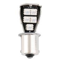 ingrosso lampadine auto p21w-Qualità CANBUS Error Free 1156 BA15S 18 SMD 5050 LED Segnale P21W Car Auto Coda del freno Stop Lampadina Lampada DC12V