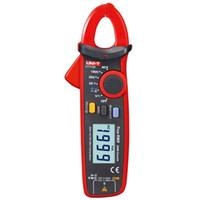 Wholesale Mini Digital Multimeters - Brand New Original UNI-T Mini Digital Clamp Meter UT210E Ture RMS Auto Range 2000 Count LCD Display Multimeters Megohmmeter