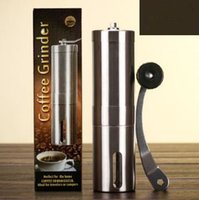 Wholesale Hand Grinders Coffee - Creative Coffee Bean Grinder Stainless Steel Hand Manual Handmade Grinder Mill Kitchen Grinding Tool CCA6902 25pcs