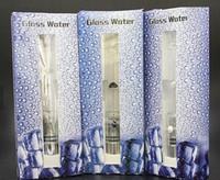 Wholesale Glass Ball Pen - E Cig Glass Ball Water Aqua Bubbler Atomizer hookah shisha bong Tank 510 Thread Atomizer Vaporizer Pen Dry Herb Wax
