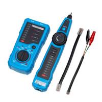 ağ telefon kablosu tel takip cihazı toptan satış-Yüksek Kaliteli RJ11 RJ45 Cat5 Cat6 Telefon Tel Tracker Tracer Toner Ethernet LAN Network Kablo Test Cihazı Dedektörü Hattı Bulucu