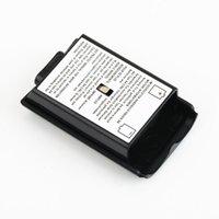беспроводная связь xbox оптовых-Аккумуляторный отсек для крышки отсека для батарей Shell Shield AA Батарейный комплект для Xbox 360 Wireless Controller Console Gamepad Оптовый