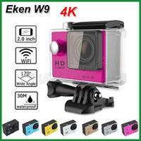 Wholesale sj6000 resale online - SJCAM SJ6000 Style Real K W9 WIFI Action Camera quot LCD Lens Full HD P M Waterproof Sport Camera Car Recorder DVR