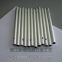ingrosso rs regali-Silvery Hollow Wind Chime Tube Diametro 8 MM Lunghezza 12 MM Moda Argento Colori Per La Decorazione Del Partito Regali Artigianali Artigianali 0 32gx A R