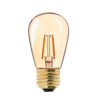Wholesale Gold Bulbs - Vintage LED Filament Bulb,1W,Gold Tint,Edison ST45 Pearl Style,Super Warm,Decorative Household Lamp,Dimmable