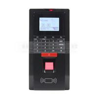 controladores ip venda por atacado-Controlador biométrico do acesso da impressão digital e comparecimento TCP / IP com o leitor de cartão da identificação do RFID Teclado da senha + USB
