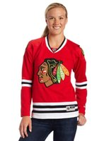 Wholesale Cheap Hoodies Woman - 2016 New Womens 88 Patrick Kane Chicago Blackhawks Jersey Sweatshirts All Stitched Logos Red Best quality Cheap Ice Hockey Hoodies