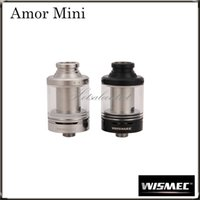 Wholesale Hidden Can - Wismec Amor Mini Atomizer with The Hidden the Airflow Control Ring Amor Mini 2 ML Tank can Perfectly Match the Reuleaux RX75 Mod100%Original