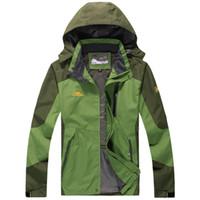 Wholesale 8xl Outdoor Jackets - Fall-jaqueta masculina Outdoor sport jacket ,Winter Jacket Men, Windproof Hood parka mens jackets and coats outwear Windbreak 8XL