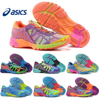 Wholesale Shoes Noosa Tri - Asics Running Shoes For Women Gel-Noosa TRI 9 IX New Color Lightweight Walking Free Shipping Sport Shoes Size 5.5-8