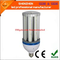Wholesale Mh Hps Bulbs - HPS MH replacement 27w 36w 45w 54w 80w 100w IP65 E27 E40 120w LED corn light, LED corn bulb smd led lamp