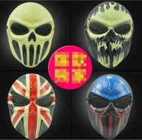 Wholesale Personalized Face Masks - Halloween Chiefs Masks M06 Zombie Skull Mask Personalized CS equipment Full Face Skeleton Warrior Mask Game Mask Scary Ghost Mask for Hallow