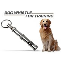 Dog Whistles sport whistle sound - 6 cm Length Silver Color Metal Dog Adjustable Ultrasonic Sound Training Whistle