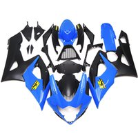 Wholesale Gsx Light - Injection Fairings For Suzuki GSXR1000 GSX-R1000 K5 05 06 2005 2006 Sportbike ABS Plastic Motorcycle Fairing Kit Body Kit Light Blue Black