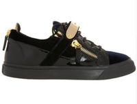 sapatos estilo italiano mulheres venda por atacado-10 estilos chegada nova marca Italiana low top sapatos da moda das mulheres dos homens de Couro Genuíno de Alta qualidade sapatos casuais plus Size 35-47