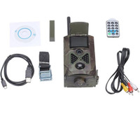 Wholesale Mms Digital Scouting Camera - new Suntek Scouting hunting camera HC500G HD 3G GPRS MMS Digital 940NM Infrared Trail Camera GSM 2.0' LCD Hunter Cam Free Shipping