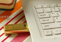 Wholesale 64gb usb gold bar flash - 10pcs epacket post 100% Real Capacity Gold bar 1GB 2GB 4GB 8GB 16GB 32GB 64GB 128GB 256GB USB Flash Drive Memory Stick with OPP Packaging 01
