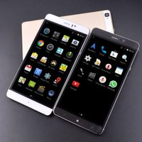 Wholesale Best Unlocked Phones - Best 6 inch phone MTK6580A quad core 4800MA battery Android 5.1 Dual SIM card 3G WCDMA Unlocked Smartphone Mobile phone
