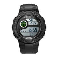 часы мужчины цифровой фарфор оптовых-2017 Китай Высокая стоимость Часы Марка Мужчины LED Цифровые Часы Военные Часы Спортивные Часы Мода Открытый Наручные Часы Reloj Hombre Часы