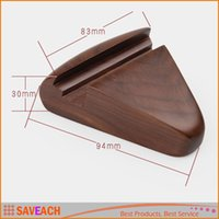 Wholesale Mobil Cell - Mobil Phone Desk Holder For iPhone iPad Samsung, Mini Wood Holder Stand Wooden Phone Stand Holder For Cell Phone