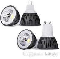 Wholesale mr16 7w led bulbs for sale - Group buy Dimmable E27 GU10 MR16 E26 COB W LED Light Bulb Led Spotlight Warm Cool white led lighting V V