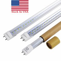 Stock In US + Tubi a 4 Led T8 Luce 18W 20W 22W Tubi luminosi a led 1200mm Lampada a fluorescenza a Led Sostituire Tubo luminoso AC 110-240V
