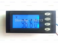 Wholesale Digital Volt Meter Ammeter - Wholesale-AC Digital LED Power Meter Monitor Voltage KWh Time Watt Energy Volt Ammeter 5 in 1 (Voltage+current+power+energy+uptime)