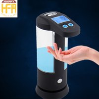 Wholesale Wholesale Soap Base - Hot Sale LCD Automatic Soap Dispenser Touchless Soap Holder Waterproof Base Clear Auto Hand Soap Dispenser Energy Saving