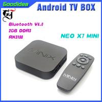 Wholesale Minix Neo Mini X7 - Android Network Player MINIX NEO X7 MiNi Remote Control CPU:Quad Core TV BOX MINI PC Andrid TV Box