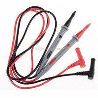 Wholesale Ultra Fine Universal Probe Test Leads Cable Multimeter Meter V A B00254 OSTH