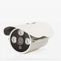 Wholesale Waterproof Security Camera Housing - 1.0MP 720P - 4.0M 400W CCTV IR Camera Weatherproof Security 3.6mm Lens Wide Angle Aluminum Metal Housing WA01