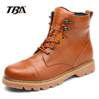 Wholesale Martin Professional - Men Martin boots Second layer Leather Locomotive lining Professional Factory Outdoor travelling boots waterproof sole Eu39-44