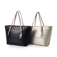Wholesale Larger Women - fashion women shoulder bag pu leather brand Handbag larger tote NWT SKUGU039