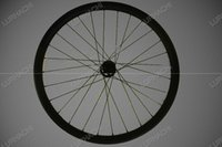 Wholesale Mountain Bike Wheel Sizes - 26er T800 carbon MTB bicycle wheel size:30mm 36mmX25mm finish:glossy matte weave:3K UD