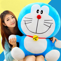 Wholesale doraemon big toy resale online - HOT Giant Big hung Japanese Doraemon Plush soft Doll Toy quot H kid Bithday gift