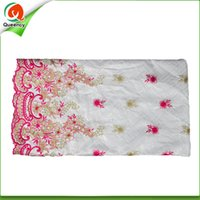 Wholesale Damask Guinea Brocade - 2016 New colors Embroidered Damask Shadda Bazin 5yards pcs width 1.2y Guinea Brocade Fabric 2 colors available Hot Sale BQ010