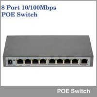 Wholesale IEEE802 af PoE Switch Mbp POE Port Uplink Port W V DC For IP Cameras AP VoIP Network Switch