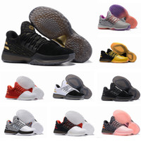 Wholesale B Grade Shoes - 2017 New James Harden Vol.1 Black History Month White Orange Gold Men's Basketball Shoes Harden Vol.1 Low BHM Boys Grade School Sneakers