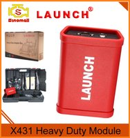 Wholesale Launch Hd Scanner - Original Launch X431 HD Module Heavy Duty Model Diagnostic Scanner For 24V Diesel Engine Truck
