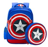 Wholesale Cool Backpacks For Boys - Cool School Bag 2016 Children Backpack High Quality Can Be Demolished School Bags for Boys Girls Child Bags Primary School Backpacks