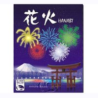 Wholesale trade easy - HANABI Board Game 2 or 5 Players Cards Games Easy To Play Funny Game For Party Family With Free Shipping