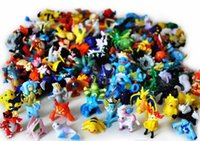 Wholesale Small Figurines - Poke Action Figures Monster Toys for Child 2-3cm Doll Little Figurine Toy Pokémon Go Game Small Classic Pikachu DHL Free Shipping Factory