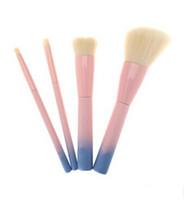 Wholesale vdl makeup resale online - NEW Hot VDL brush set Pro Techniques Powder Cosmetic makeup brush set VDL pantone liquid foundation brush Eyeshadow Brush set DHL free