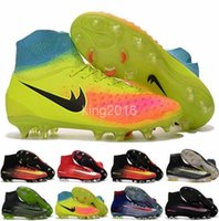 Wholesale Cheap Boots For Kids - 2016 Cheap Women Kids Football Soccer Shoes Boots Youth Soccer Cleats For Boys Children boot Football Shoes Cleat Size US 3-6.5
