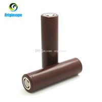 mods için lityum piller toptan satış-18650 Pil HG2 3000 mAh 30A MAX Lityum E Sigara Mod Fedex Ücretsiz Nakliye Için Şarj Edilebilir Piller Deşarj