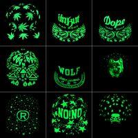 Wholesale Fluorescent Snapback - Graffiti Baseball Cap Hip Hop Fluorescent Light Snapback Caps Men Casquette Women Girl Noctilucence Hats Boy Luminous Hat