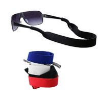 Wholesale Sunglasses Glasses Strap - Wholesale-3pcs interchangeable with summer Sunglasses Band Strap Neoprene string rope Eyeglasses Glasses Band Strap Head Band Floater Cord
