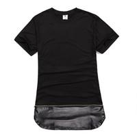 Wholesale Designer Hoodies Wholesale - Wholesale-streetwear hip hop mens fashion mens designer clothes urban clothing eminem hoodies blank t shirt kanye west tee.Free shipping