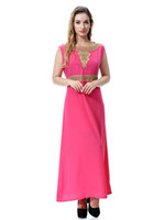 Wholesale Summer Ware - Arabia, the Middle East, Dubai, Saudi Arabia, Southeast Asian women's gowns, long dresses Lady girls muslim wares dress